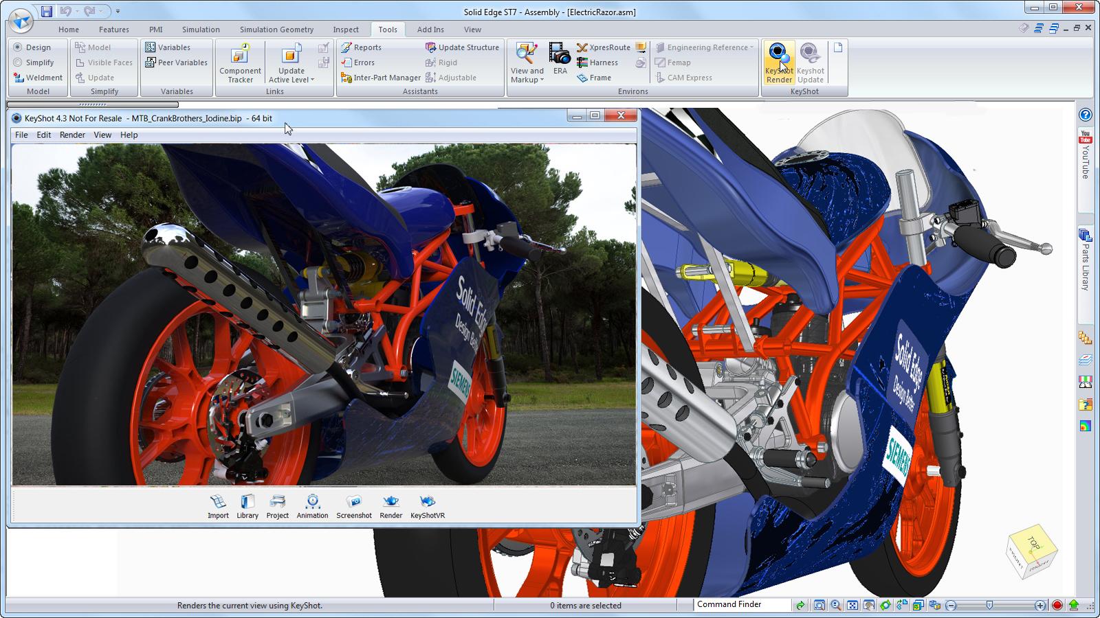Solid edge novasystem for Programmi rendering gratis